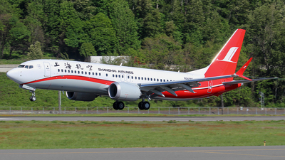 N243BE - Boeing 737-8 MAX - Shanghai Airlines