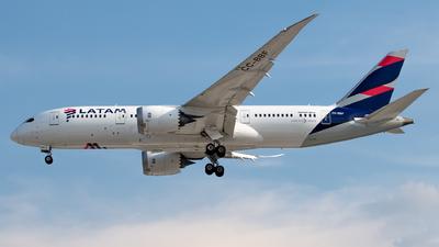 A picture of CCBBF - Boeing 7878 Dreamliner - LATAM Airlines - © Juan Carlos Alvarez (MAS Aviation Press)