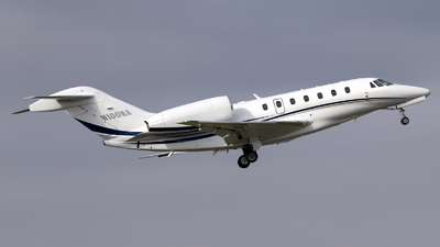 N100MA - Cessna 750 Citation X - Private