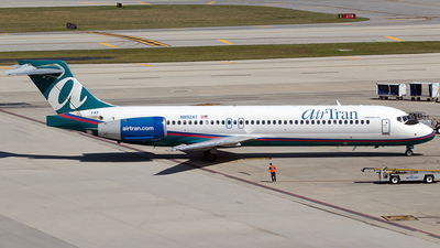 N892AT - Boeing 717-2BD - airTran Airways