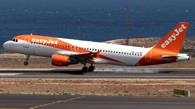 A picture of HBJXA - Airbus A320214 - easyJet - © Martín Marrero Hdez