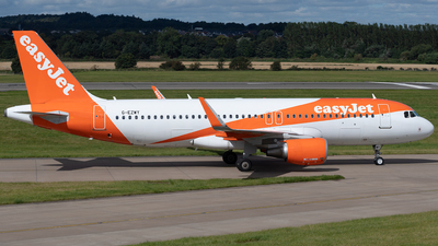 A picture of GEZWY - Airbus A320214 - easyJet - © Ian McGregor
