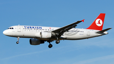 TC-JPY - Airbus A320-214 - Turkish Airlines
