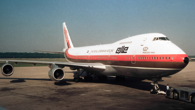JY-AFB - Boeing 747-2D3B(M) - Alia - The Royal Jordanian Airline