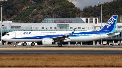 JA143A - Airbus A321-272N - All Nippon Airways (ANA)