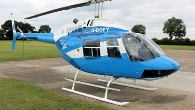 A picture of GDOFY - Bell 206B JetRanger II - [3637] - © David Cook