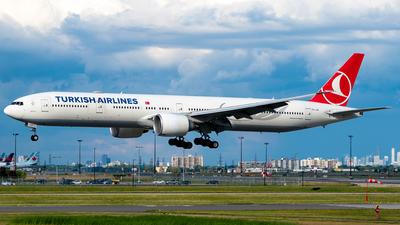 A picture of TCJJN - Boeing 7773F2(ER) - Turkish Airlines - © Derek MacPherson
