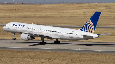 N548UA - Boeing 757-222 - United Airlines