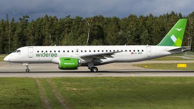 LN-WEB - Embraer 190-300STD - Widerøe