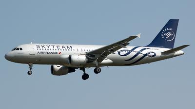 F-GFKS - Airbus A320-211 - Air France