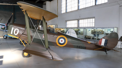 T-8209 - De Havilland DH-82A Tiger Moth - United Kingdom - Royal Air Force (RAF)