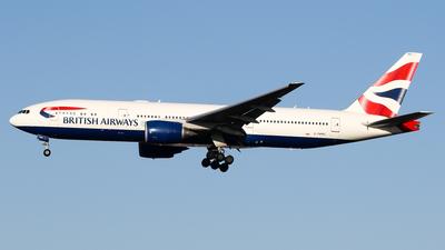 G-YMMG - Boeing 777-236(ER) - British Airways