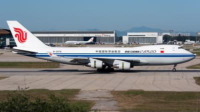 B-2476 - Boeing 747-4FTF(SCD) - Air China Cargo