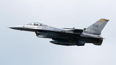 97-0109 - Lockheed Martin F-16C Fighting Falcon - United States - US Air Force (USAF)