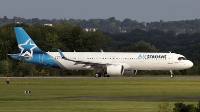 A picture of CGOIH - Airbus A321271NX - Air Transat - © Paul Spijkers