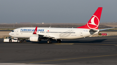 A picture of TCJVJ - Boeing 7378F2 - Turkish Airlines - © Kuzey Alan