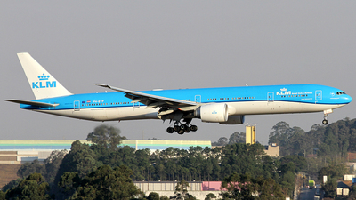 A picture of PHBVP - Boeing 777306(ER) - KLM - © Bruno Orofino