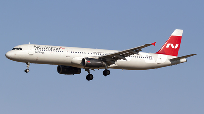 VQ-BRO - Airbus A321-231 - Nordwind Airlines