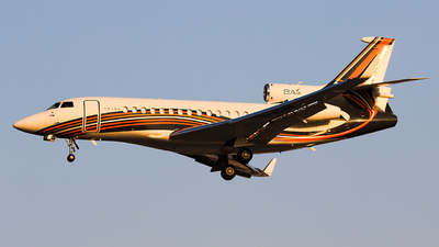 B-8205 - Dassault Falcon 7X - Business Aviation Asia
