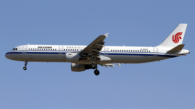 A picture of B6597 - Airbus A321213 - Air China - © wangpaul