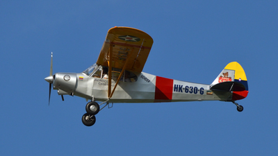 HK-630-G - Piper PA-18 Super Cub - Private
