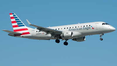 N408YX - Embraer 170-200LR - American Eagle (Republic Airways)