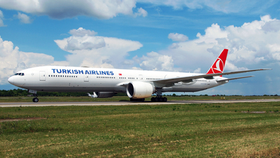 A picture of TCLJC - Boeing 7773F2(ER) - Turkish Airlines - © Marin Ghe.