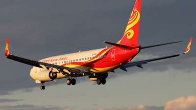 A picture of B1103 - Boeing 73784P - Hainan Airlines - © Anlanjian