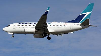 C-FJWS - Boeing 737-76N - WestJet Airlines