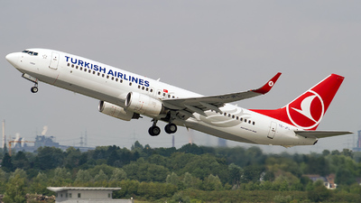 TC-JFL - Boeing 737-8F2 - Turkish Airlines