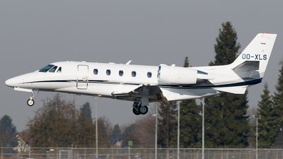 OO-XLS - Cessna 560XL Citation XLS Plus - Air Service Liège (ASL)