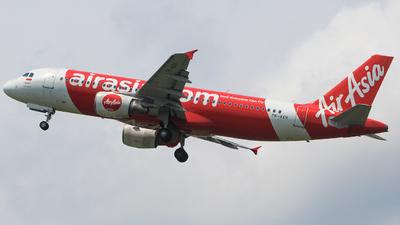 PK-AXH - Airbus A320-216 - Indonesia AirAsia