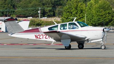 A picture of N2721T - Beech V35 Bonanza - [D8443] - © SpotterPowwwiii