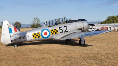 ZK-MJN - North American AT-6 Harvard IIA - Private
