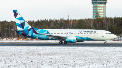 A picture of VQBVW - Boeing 7378AS - NordStar - © David_Vlasov