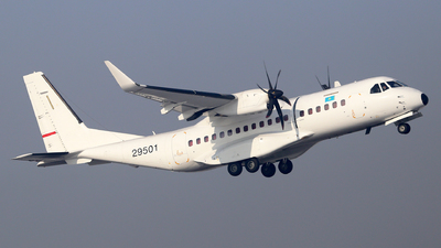 29501 - Airbus C295W - Kazakhstan - Border Guard