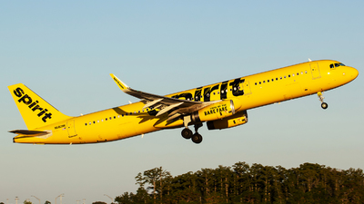 N682NK - Airbus A321-231 - Spirit Airlines