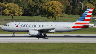 A picture of N659AW - Airbus A320232 - American Airlines - © Nick Neiger