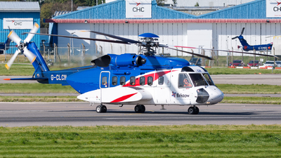 G-CLCN - Sikorsky S-92A Helibus - Bristow Helicopters