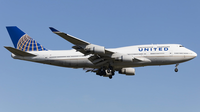 N122UA - Boeing 747-422 - United Airlines