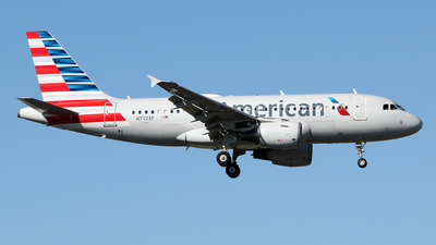 N772XF - Airbus A319-111 - American Airlines