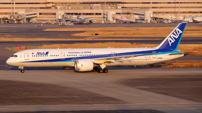 JA886A - Boeing 787-9 Dreamliner - All Nippon Airways (Air Japan)