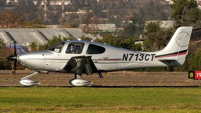 N713CT - Cirrus SR22T - Private