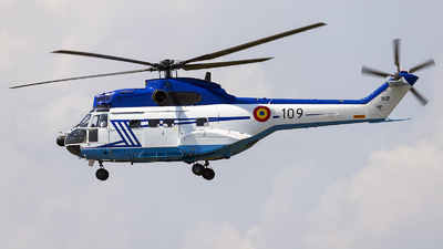 109 - Aérospatiale SA 330L Puma - Romania - Serviciul Roman de Informatii