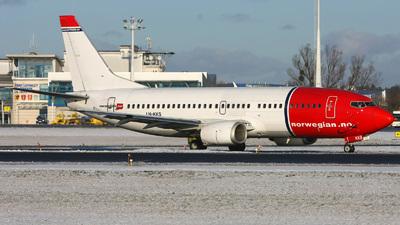 LN-KKS - Boeing 737-33A - Norwegian