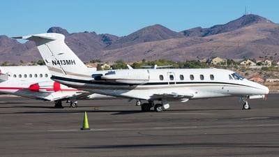 A picture of N413MH - Cessna 650 Citation III - [6500148] - © Taxi_Way_