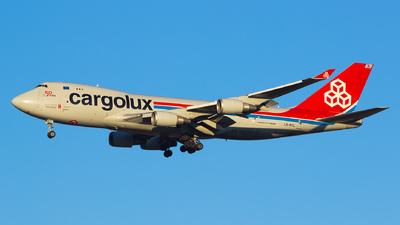 A picture of LXKCL - Boeing 7474HAF(ER) - Cargolux - © Gergely Molnár