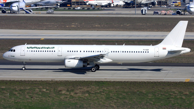 YI-AGR - Airbus A321-231 - Iraqi Airways