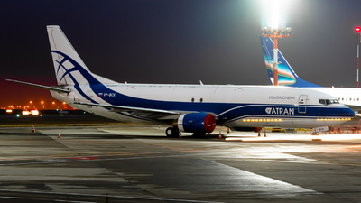 VP-BCK - Boeing 734-4H6(SF) - Atran - Aviatrans Cargo Airlines