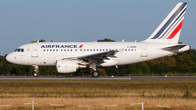 A picture of FGUGH - Airbus A318111 - Air France - © Alexis Boidron